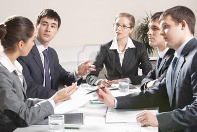 Henrietta-listening-to-her-colleagues