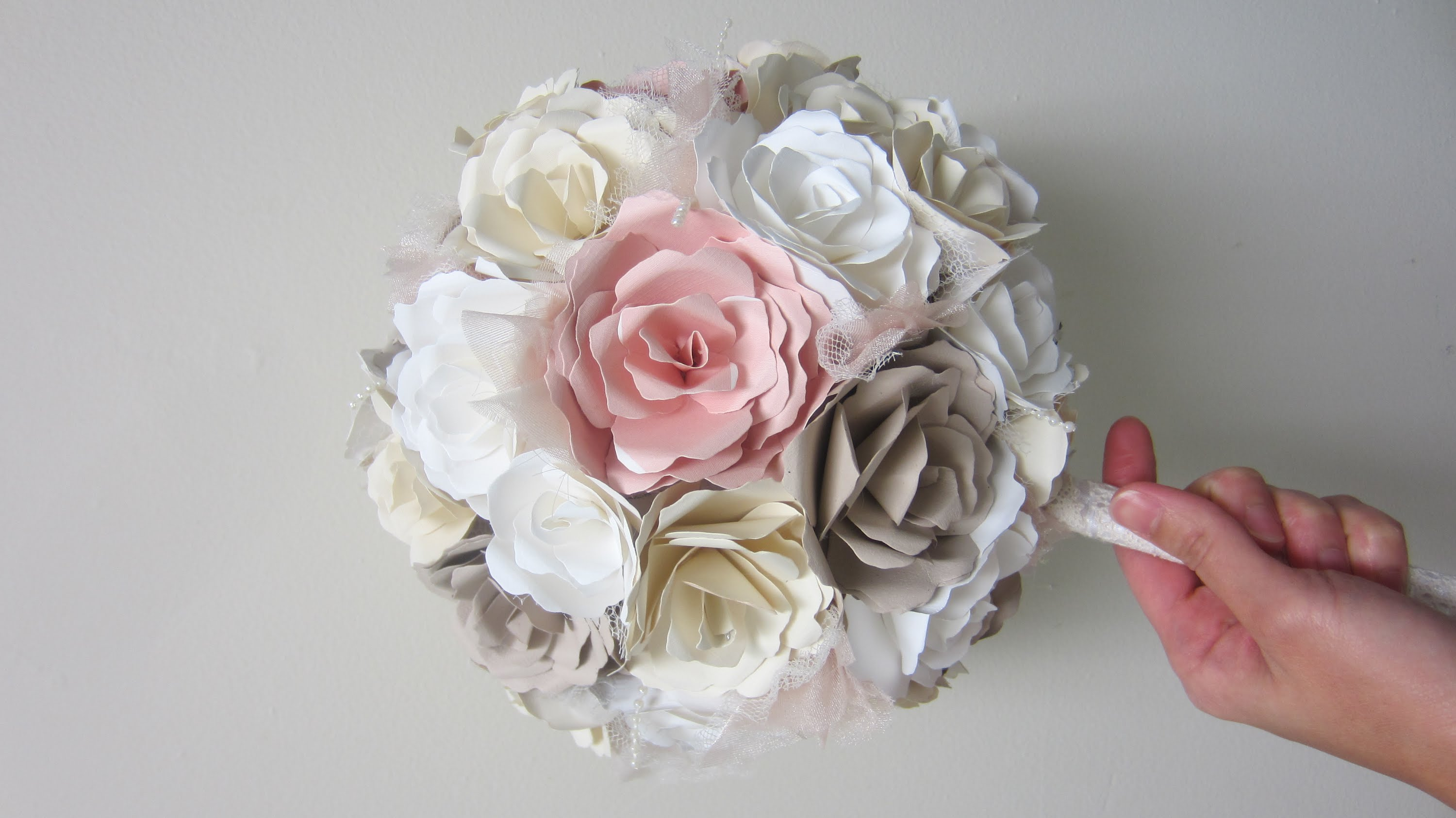 How to make paper flowers for a wedding bouquet izmirmasajfo