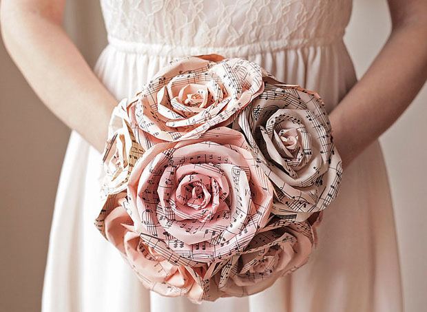 How to make paper flowers for a wedding bouquet once you have your finished product you can repeat the process to make as many as you like you can even bend the pipe cleaners to make the flowers bend mightylinksfo